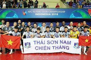 Đoạt ngôi Á quân giải châu Á, Thái Sơn Nam nhận thưởng 'khủng'