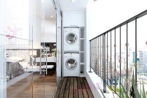 Tham khảo vị trí đặt máy giặt hợp lý cho chung cư nhỏ
