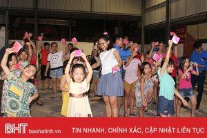 Sân chơi bổ ích cho thiếu nhi thành phố Hà Tĩnh