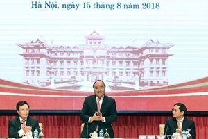 Hình ảnh Thủ tướng dự Hội nghị Ngoại giao lần thứ 30