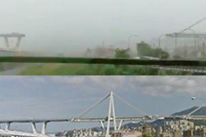 Cận cảnh cầu cao tốc ở Italy trước và sau khi đổ sập