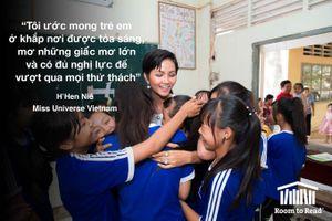 Hoa hậu Hoàn vũ Việt Nam H'hen Niê trở thành Đại sứ Toàn cầu của Room To Read