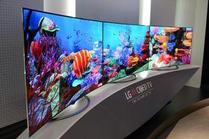 Màn hình OLED cỡ lớn của LG hút khách