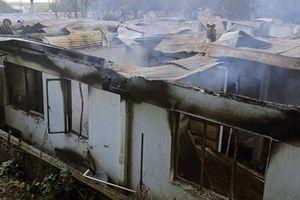 Cháy kinh hoàng ở viện dưỡng lão, 10 người chết