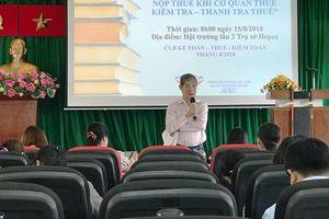TP. Hồ Chí Minh: Hỗ trợ thông tin Thuế cho doanh nghiệp