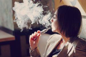 Hút thuốc lá điện tử có thể gây hại cho cơ thể