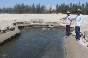 Hà Tĩnh phạt một công ty nuôi tôm gần nửa tỷ đồng vì xả thải ra biển