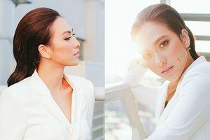 Phương Anh Đào: 'Tôi và anh Thái Hòa hôn nhau nhiều đến muốn sưng vêu miệng'