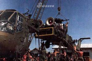 Bất ngờ khi trực thăng CH-54 được Mỹ lắp ráp ngay tại Việt Nam