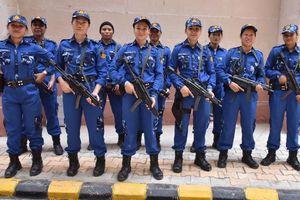 Đội SWAT toàn nữ đầu tiên của Ấn Độ xuất hiện trên đường phố