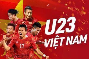 Bảng xếp hạng mới nhất giải bóng đá Asiad 2018