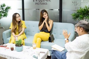 Kim Tuyến sẵn sàng cắt phăng mái tóc để được đóng phim cùng đàn chị Lý Nhã Kỳ