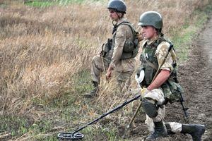 Ukraine chế máy dò mìn cực khủng