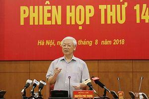 Tổng Bí thư chủ trì phiên họp thứ 14 Ban Chỉ đạo Trung ương về phòng, chống tham nhũng