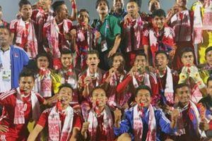 Bóng đá Nepal và giấc mơ vươn tầm châu lục