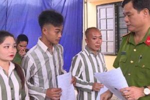 57 phạm nhân ở Trại giam Tân Lập được tha tù trước thời hạn