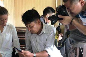 Bố Đoàn Thị Hương nói gì khi con gái chưa được tuyên vô tội?
