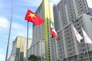Quốc kỳ Việt Nam tung bay ở ASIAD 18