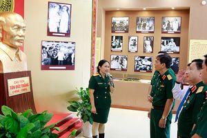 Triển lãm về cuộc đời và sự nghiệp cách mạng của Chủ tịch Tôn Đức Thắng