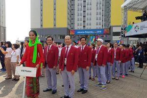 Quốc kỳ Việt Nam chính thức tung bay ở ASIAD 18