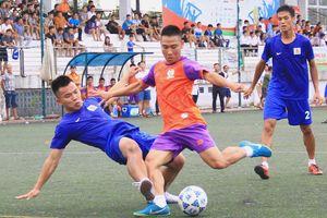 Giải bóng đá truyền thống Báo Công an TP Đà Nẵng: Kịch tính bảng B