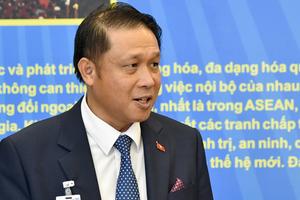 Đại sứ Trịnh Vinh Quang: UAE là cửa ngõ cho hàng Việt vào Trung Đông - châu Phi