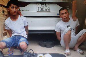 Quảng Trị: Bắt quả tang 2 đối tượng vận chuyển 2kg ma túy tổng hợp