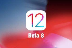 Apple phát hành iOS 12 Developer beta 8 khắc phục lỗi hiệu năng ngiêm trọng
