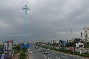 Ý nghĩa đặc biệt của 'những cây cột màu xanh' giữa Thủ đô