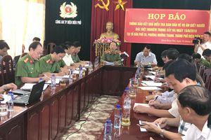 Vụ nổ súng ở Điện Biên: Hung thủ viết gì trong thư tuyệt mệnh?