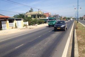Yêu cầu khắc phục hư hỏng mặt đường QL1 qua Bình Định