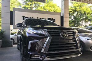 Cận cảnh Toyota Fortuner mới sau khi lắp thêm 100 triệu đồng phụ kiện