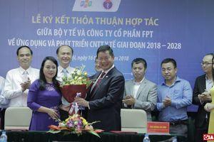 Bộ Y tế phối hợp FPT xây dựng mô hình Chăm sóc sức khỏe thông minh, Bệnh viện thông minh