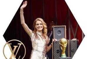 Chiêm ngưỡng vali Louis Vuitton sang chảnh đựng cúp vàng danh giá World Cup 2018