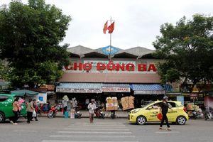 Thừa Thiên Huế lên kế hoạch cải tạo chợ Đông Ba
