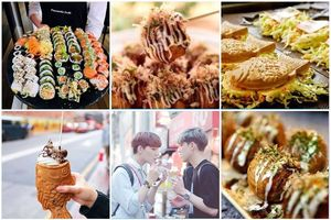 Lạc vào thiên đường đồ ăn lấp đầy 'chiếc bụng đói' ở Lễ hội ẨM THỰC ĐƯỜNG PHỐ ngay giữa lòng Hà Nội