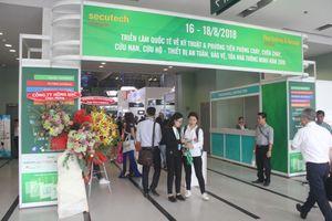 TP. Hồ Chí Minh: 300 đơn vị tham gia triển lãm về phòng cháy, chữa cháy
