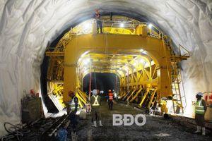 Dự án hầm đường bộ Cù Mông: Sẽ về đích đúng hẹn
