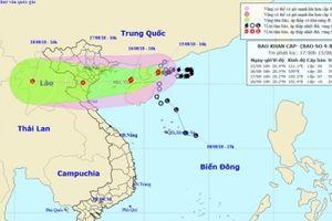 Bão số 4 sắp đổ bộ từ Quảng Ninh đến Nghệ An