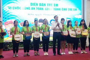 10 thông điệp của trẻ em gửi đến lãnh đạo TP Hà Nội
