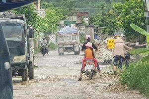 Dự án tuyến đường liên huyện Uông Bí – Đông Triều Quảng Ninh: Liệu có kịp tiến độ như đã cam kết?