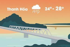 Thời tiết ngày 17/8: Hòa Bình, Thanh Hóa mưa rất lớn