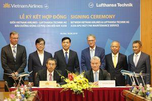 VNA bắt tay Lufthansa Technik trong bảo dưỡng động cơ phụ Airbus A350