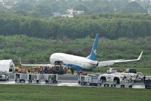 Máy bay Trung Quốc chở 165 người trượt đường băng khi hạ cánh ở Philippines