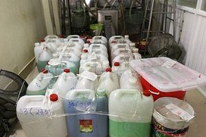 Xử phạt cơ sở sản xuất thực phẩm chức năng giả hơn 114 triệu đồng
