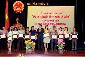 Ngày 20/8, trao giải báo chí toàn quốc viết về ngành Tài chính