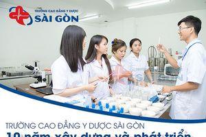 Trường Cao đẳng Y Dược Sài Gòn 10 năm phát triển thương hiệu