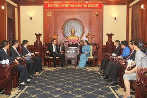 Thành ủy TPHCM gặp gỡ đoàn đại biểu cấp cao T.Ư Đoàn TNCS Trung Quốc