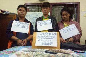 Bốn đối tượng người Lào vận chuyển 30.000 viên ma túy tổng hợp