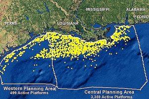 Mỹ tiếp tục mở thầu dầu khí ở vùng Vịnh Mexico